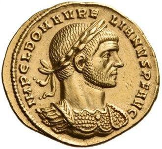 Aurelian - Image: Aureus of Aurelian