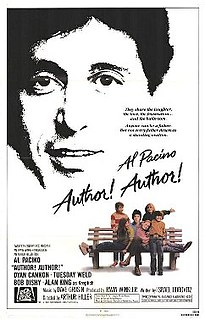 <i>Author! Author!</i> (film) 1982 film by Arthur Hiller