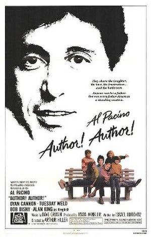 Author! Author! (film) - Theatrical release poster
