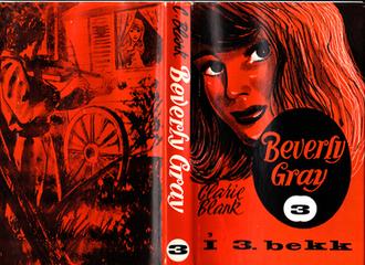 Beverly Gray - Dust jacket to Beverly Gray í III bekk (Iðunn, 1969)