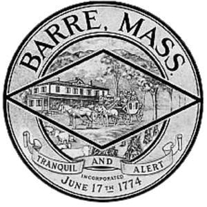 Barre, Massachusetts - Image: Barre MA seal