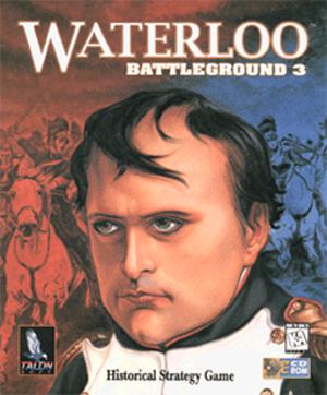 Battleground 3: Waterloo - Cover art