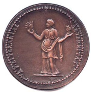 Bodley Medal - Image: Bodleymedalback