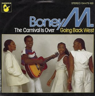 The Carnival Is Over - Image: Boney M. The Carnival Is Over (1982 single)