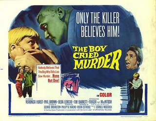 <i>The Boy Cried Murder</i> 1966 film directed by George P. Breakston
