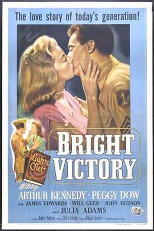 Bright Victory - Theatrical poster