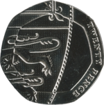 British twenty pence coin 2015 reverse.png