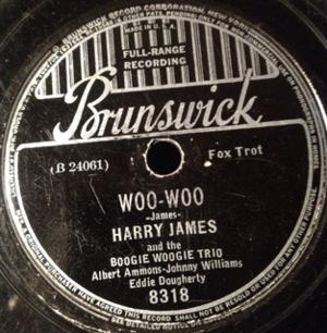 Woo-Woo (song) - Image: Brunswick 8318B Woo Woo