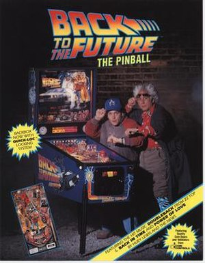 Back to the Future: The Pinball - Image: Bttf II PB
