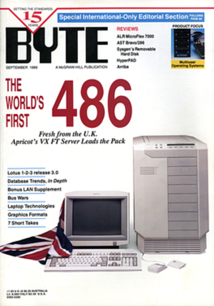 Byte magazine September 1989