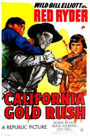 California Gold Rush (film) - Theatrical release poster