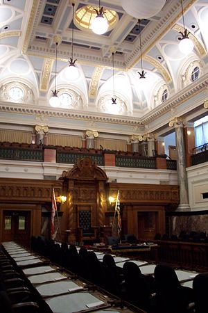 Legislative Assembly of British Columbia - Legislative Chamber