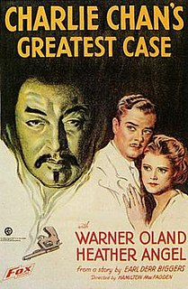 <i>Charlie Chans Greatest Case</i> 1933 film