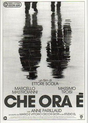 What Time Is It? (film) - Italian film poster