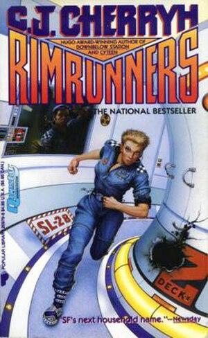 The Merchanter novels - Image: Cherryh Rimrunners PB Cover