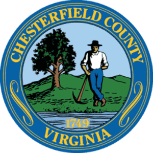 Chesterfield County, Virginia - Image: Chesterfield County Seal
