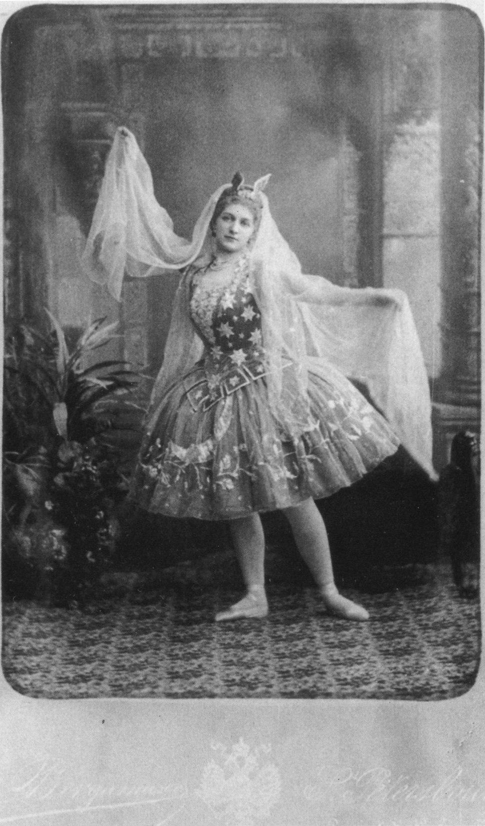 Cinderella -Fairy Godmother -Maria Anderson -1893