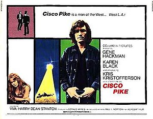 Cisco Pike - Theatrical release poster