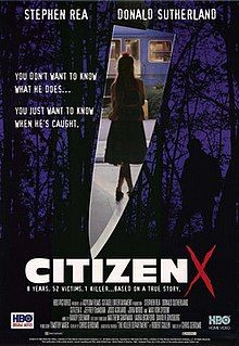 <i>Citizen X</i> 1995 American crime drama television film directed by Chris Gerolmo