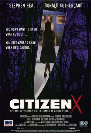 Citizen X - Promotional poster