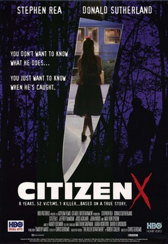Citizen X - Promotional poster