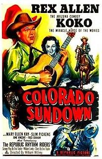 <i>Colorado Sundown</i> 1952 film by William Witney