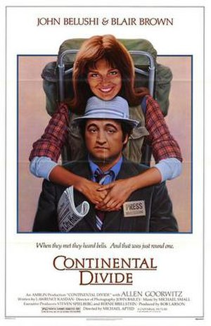 Continental Divide (film) - Theatrical release poster