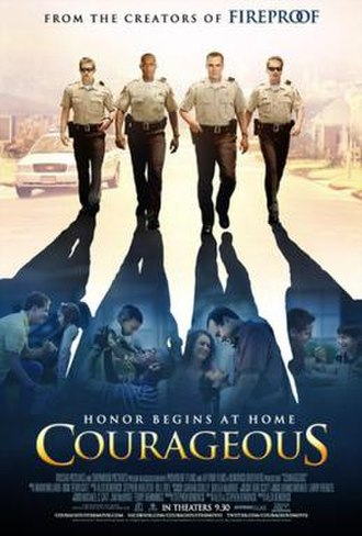 Courageous (film) - Theatrical release poster