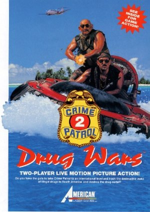 Crime Patrol 2: Drug Wars - Image: Crime Patrol 2 Drug Wars logo