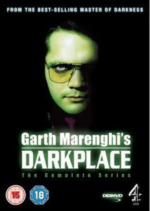Garth Marenghi's Darkplace - Front cover of DVD release