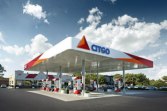 Citgo - A locally owned CITGO station in Chicago with the new street image
