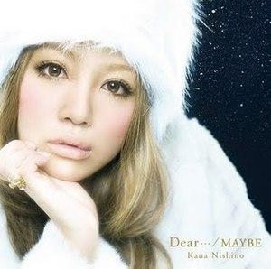 Dear.../Maybe - Image: Dear MAYBE