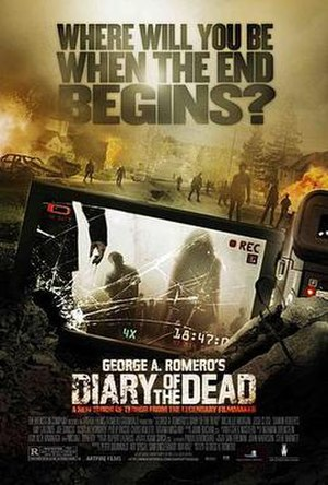 Diary of the Dead - Theatrical release poster