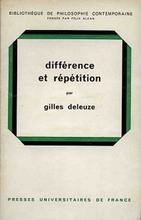 <i>Difference and Repetition</i> 1968 book by Gilles Deleuze