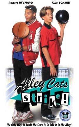 Alley Cats Strike - VHS cover