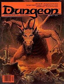 Dungeon (magazine) - Wikipedia