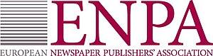 European Newspaper Publishers' Association - Image: ENPA Logo EN