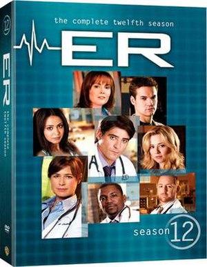 ER (season 12) - Image: ER Season 12 DVD Cover