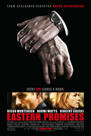 Eastern Promises - Theatrical release poster