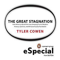 Ebook cover of The Great Stagnation.jpg