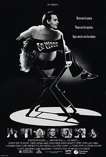 1994 American comedy-drama biopic by Tim Burton