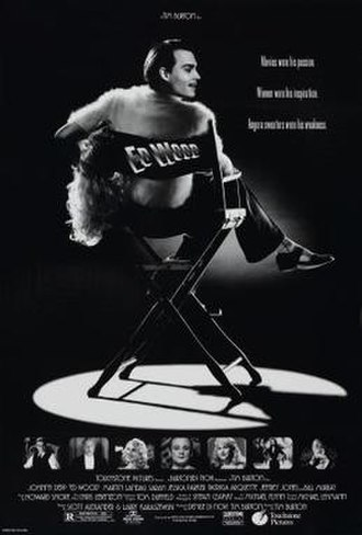 Ed Wood (film) - Theatrical release poster
