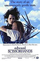 Picture of a movie: Edward Scissorhands