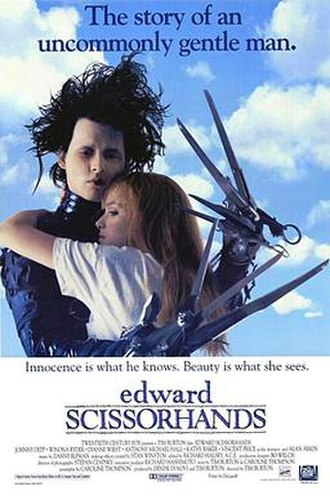 Edward Scissorhands - Theatrical release poster