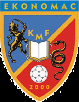 KMF Ekonomac - Club crest