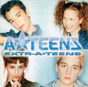 Extr-A-Teens - Image: Extra cd maxi chile 04