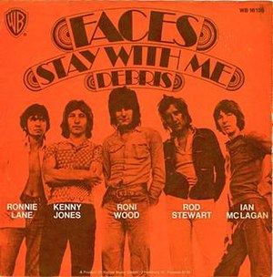 Stay with Me (Faces song) - Image: Faces Stay With Me