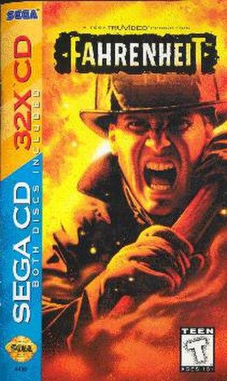 Fahrenheit (1995 video game) - Image: Fahrenheit front