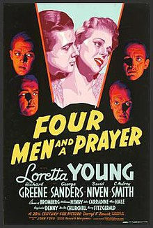 Four Men and a Prayer FilmPoster.jpeg