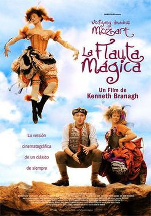 The Magic Flute (2006 film) - Spanish Poster of The Magic Flute